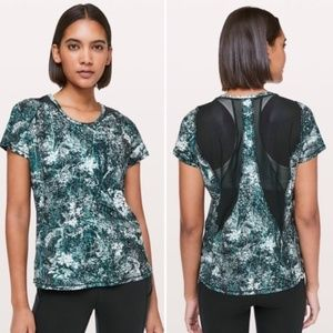 Lululemon Seek The Heat Short Sleeve Top